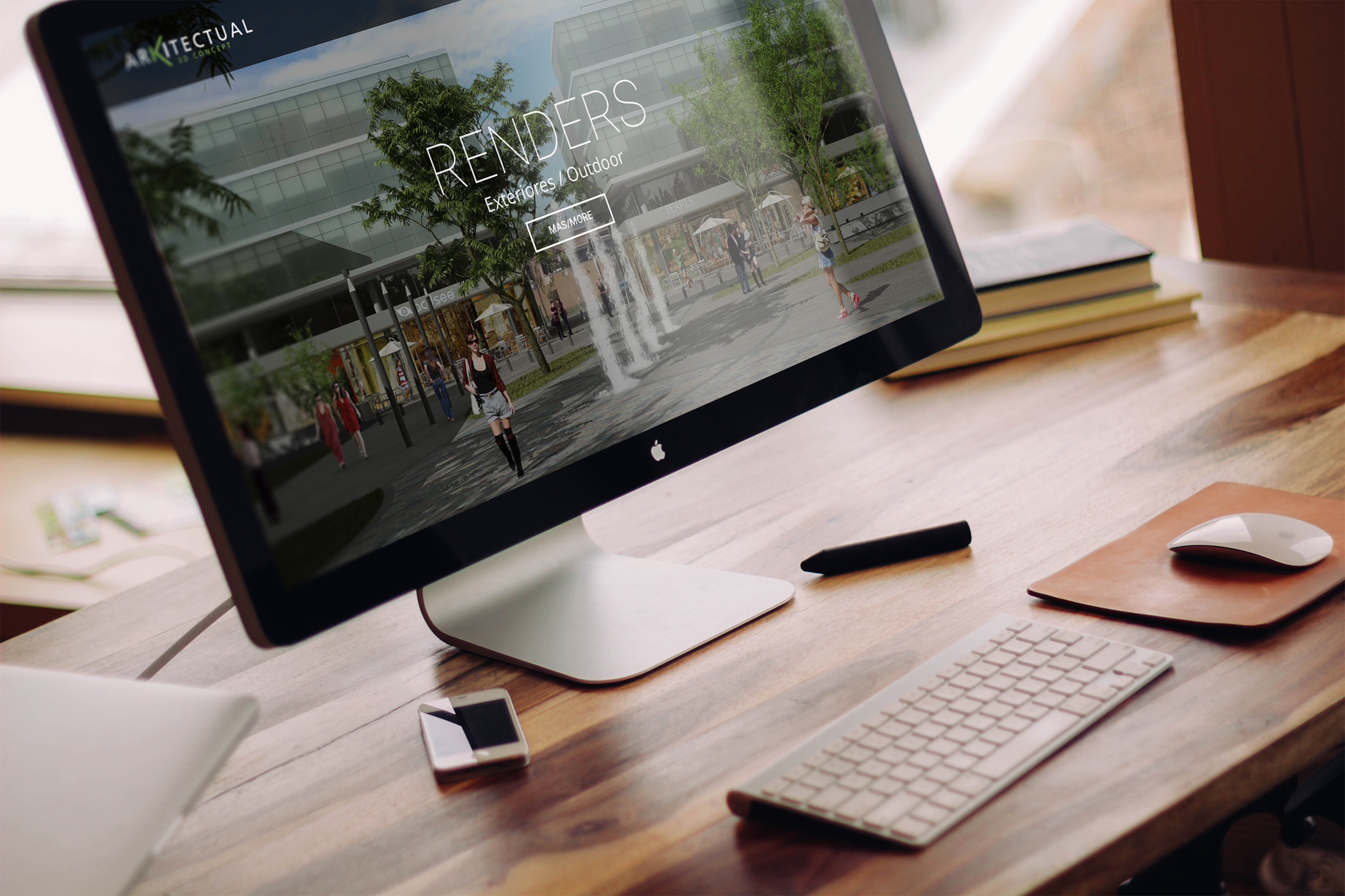 Arkitectual 3D Concept / Argentina / website