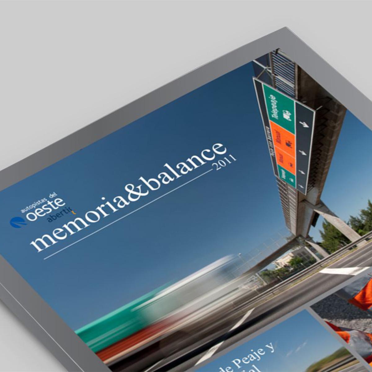 Autopistas del Oeste / Argentina / Memoria y Balance