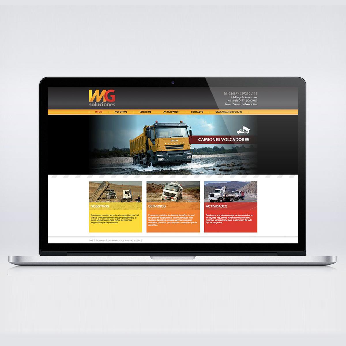 IMG Soluciones / Argentina / Website