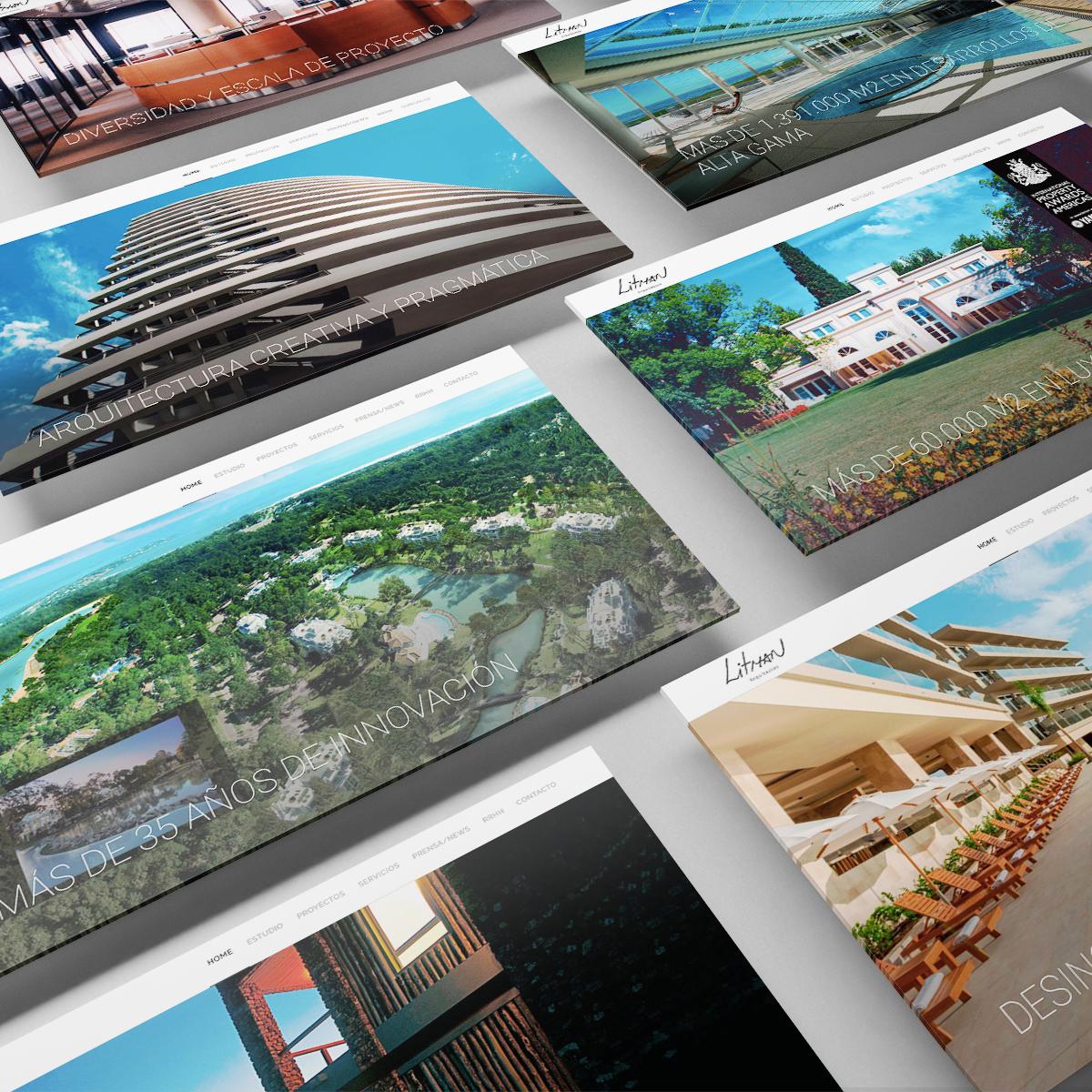 Litman arquitectos website