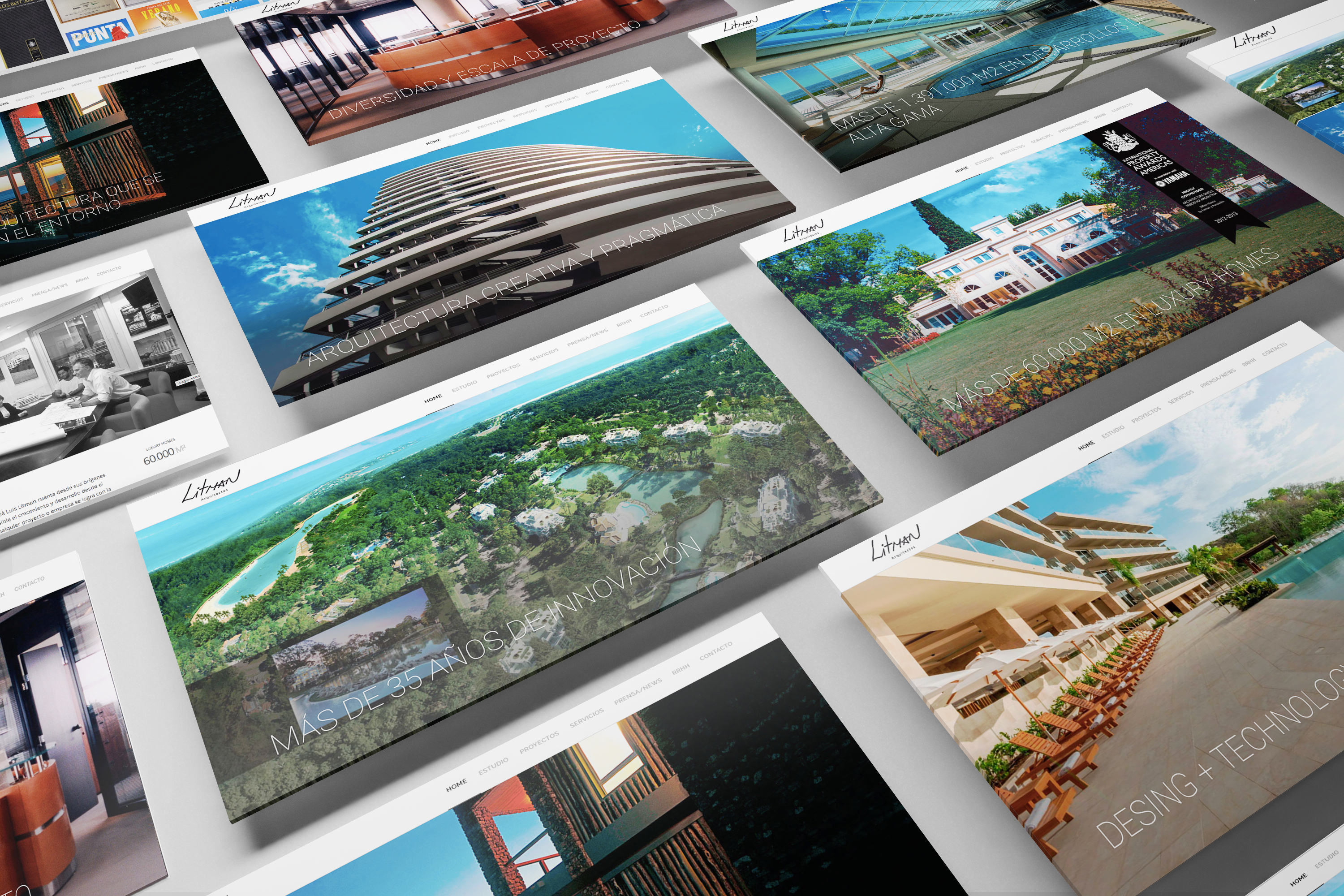 Litman arquitectos website